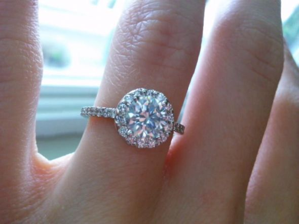 The Beautiful 1 Carat Diamond Ring