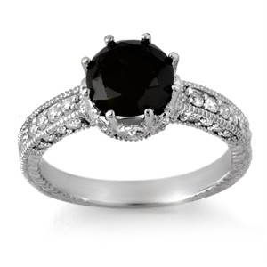 black diamond ring the eye of the jewel