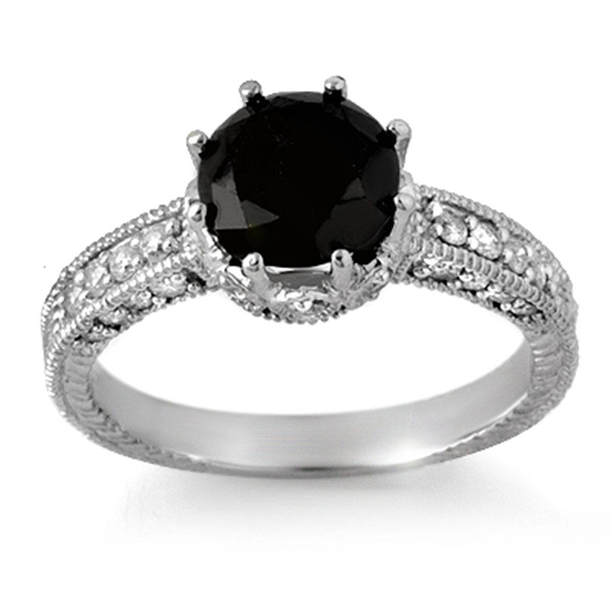 Black Wedding Rings With Diamonds The Sensuous Black Diamond Rings