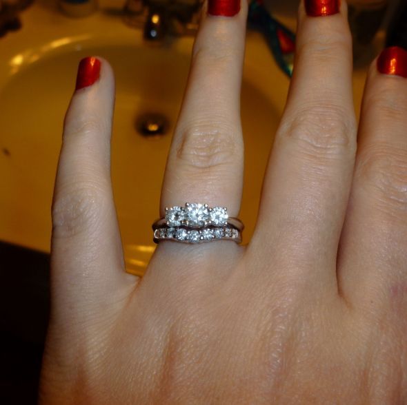 The Magical Three Stone Engagement Rings